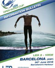 Barcelone 2018 - Coupe d'Europe d'eau-libre - Etape 3