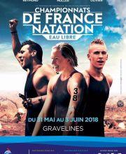 Championnats de France eau libre 2018 à Gravelines