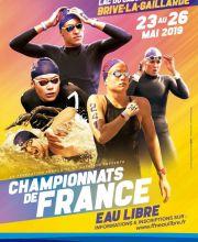 Championnats de France eau libre 2019 à Brive-La-Gaillarde
