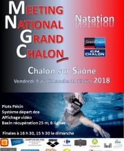 34ème Meeting National du Grand Chalon Natation