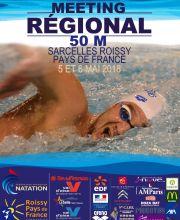 Meeting Régional de Sarcelles Roissy Pays de France 2018 - 50 m