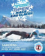 2020 French Championships in frozen water at Samoëns