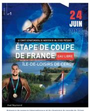 2018 French Open-Water Cup - 14th Stage - pond of Cergy