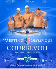 4e Meeting Olympique de Courbevoie MOC 2016 - 50 m