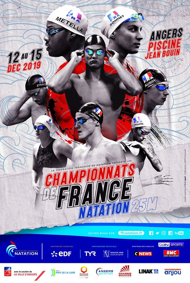 2019 French Championships in 25m-pool at Angers