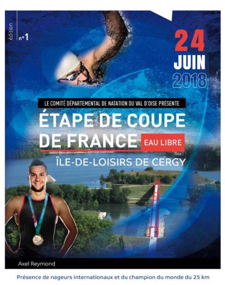 Etape n°14 de Coupe de France Eau Libre 2018 - Etangs de Cergy