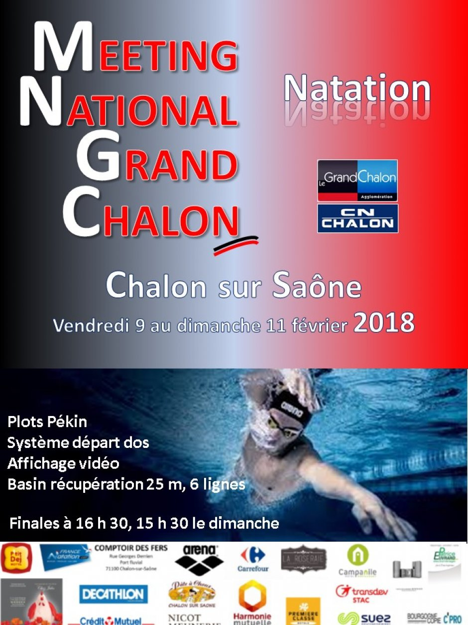 34th Meeting National of Grand Chalon Natation