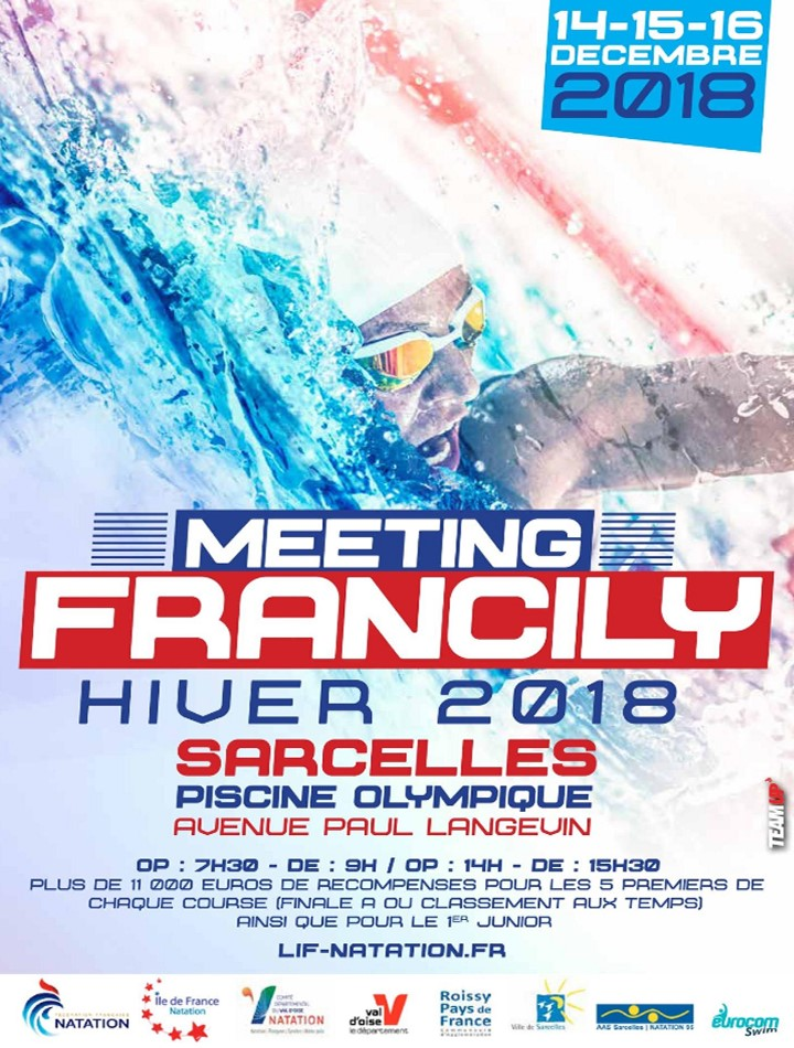 Francily Winter Meeting 2018 in Sarcelles