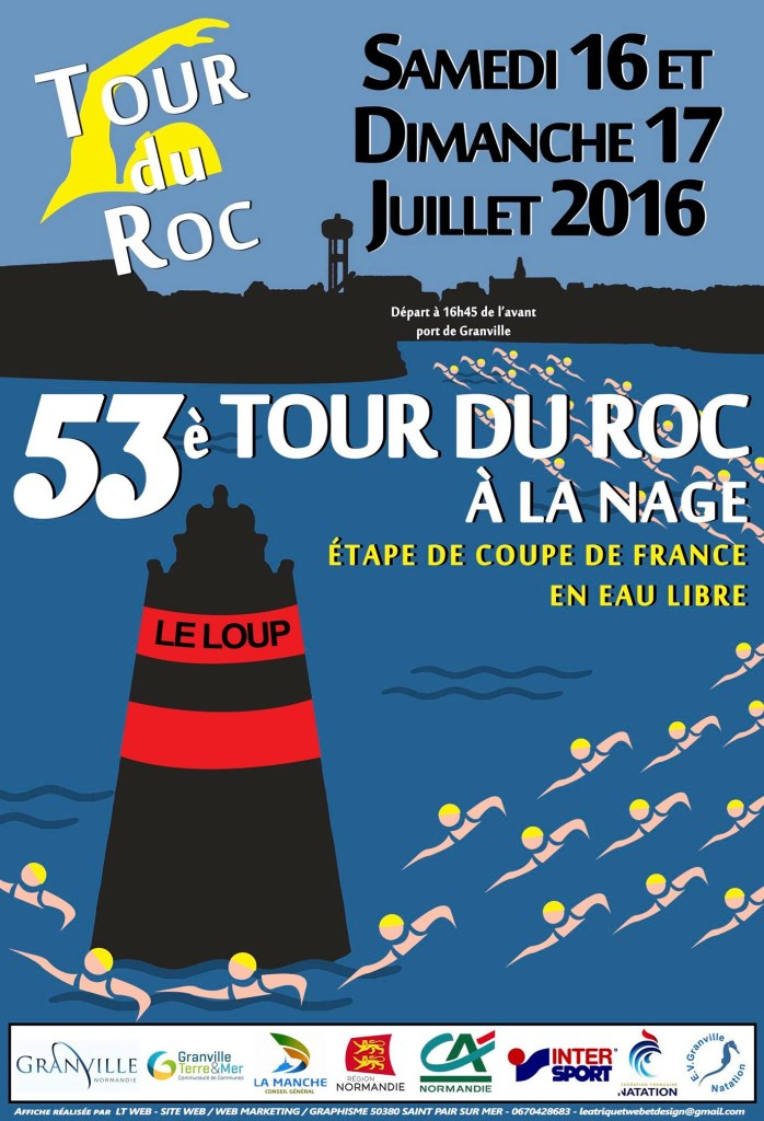 16th stage of the French Open-Water Cup 2016 at Granville