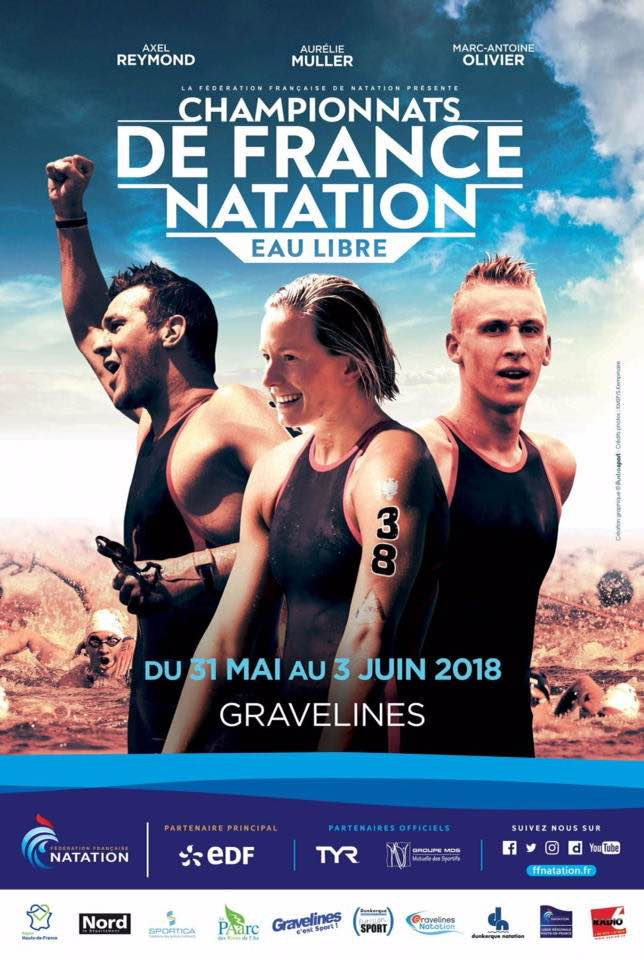 2018 French OpenWater Championships at Gravelines