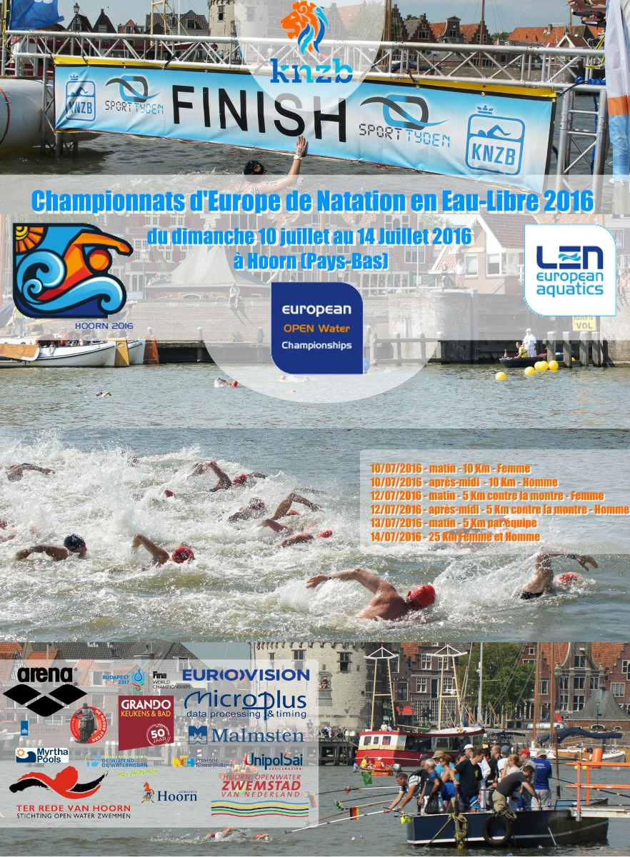 European Championships 2016 Open-Water at Hoorn