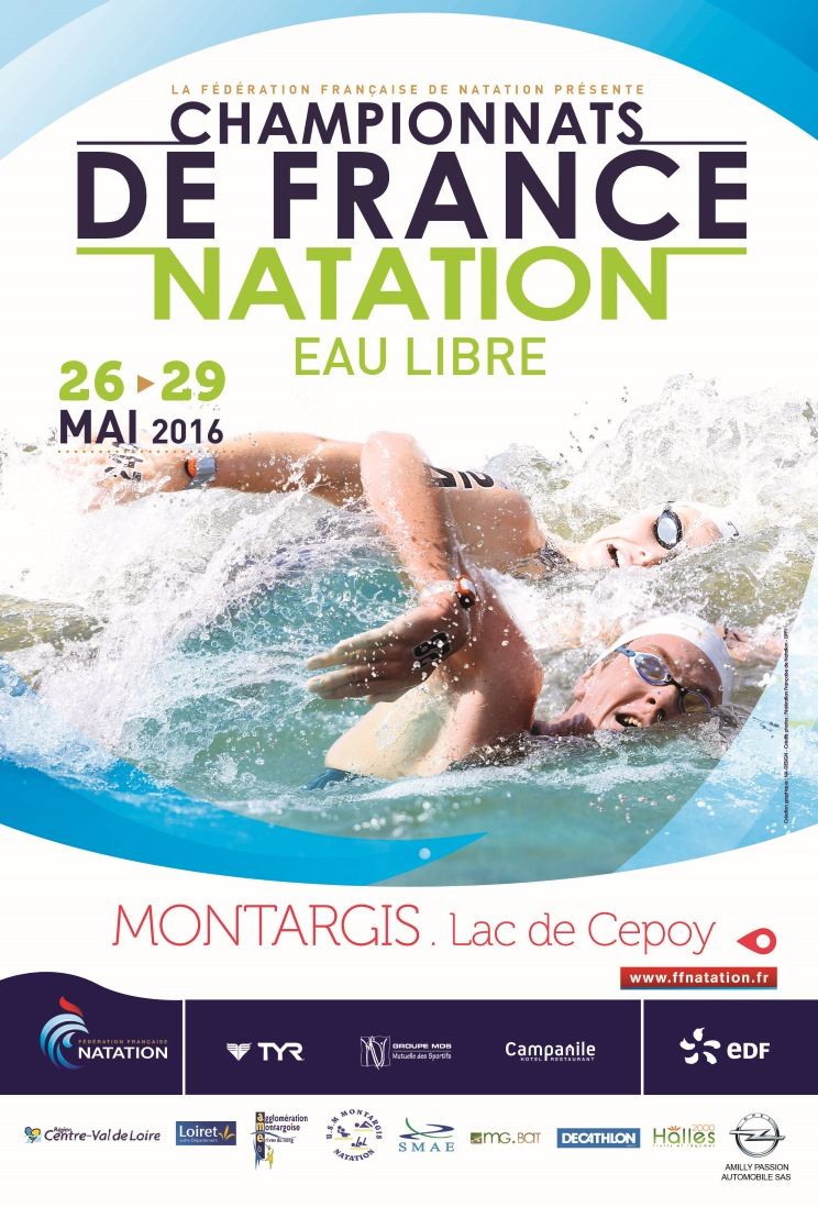 French Championships 2016 of Open-Water at Montargis