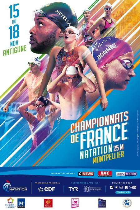 2018 French Championships in 25m-pool at Montpellier
