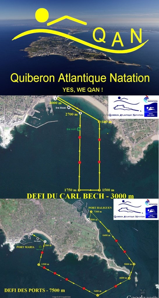 18th et 19th stages of the French Open-Water Cup 2016 at Quiberon