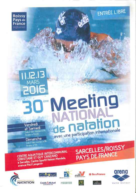National Meeting of Sarcelles Val de France 2016