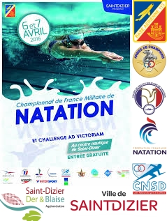 French Military Swimming Championships 2016 at Saint-Dizier
